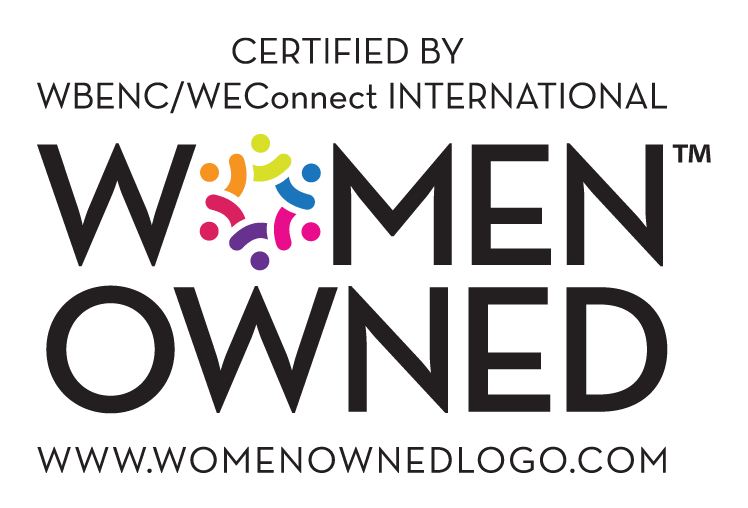 Women Owned - Certified by WBENC/WEConnect INTERNATIONAL